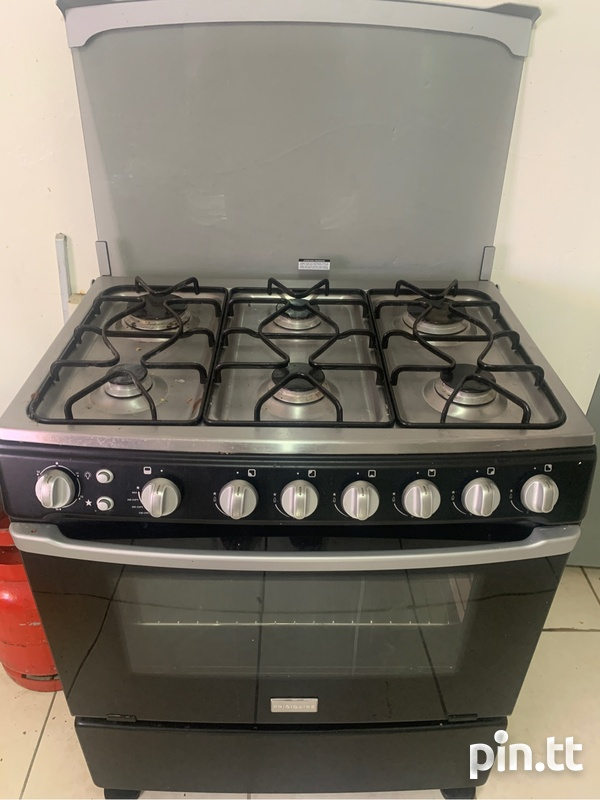 Frigidaire 6 burner gas stove with igniter-2