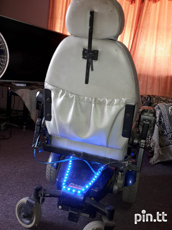 jazzy electronic wheelchair-6
