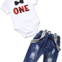 Toddler Bowtie Outfit