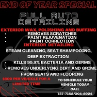 Full Auto Detailing End Of Year Special