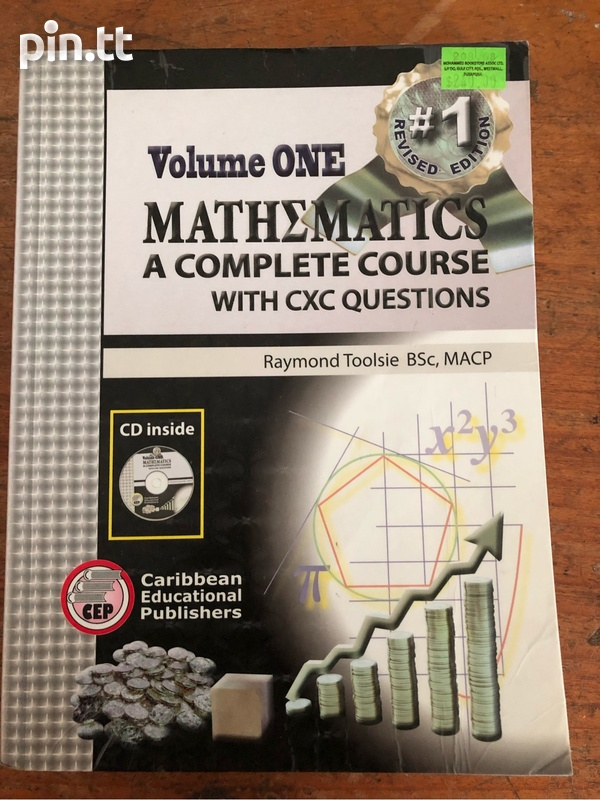Volume 1 Mathematics - A Complete Course With CXC Questions-1