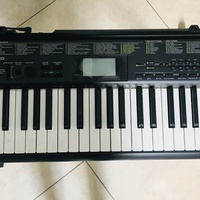 CASIO KEYBOARD AND ROLLINS CLASSICAL GUITAR COMBO
