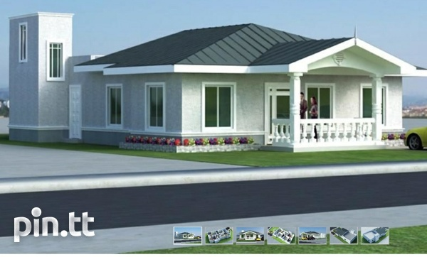 New 3 bedroom house in gated community in Chaguanas-1