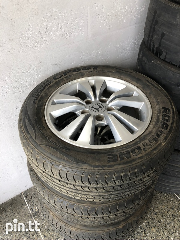 Honda accord rims And Tyres-1