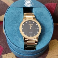 Citizen Eco-Drive Electro Gold Plated Diamond 44MM Watch