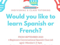 Spanish Classes/ French Classes