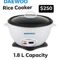 DAEWOO Rice Cooker - 1.8 Liters