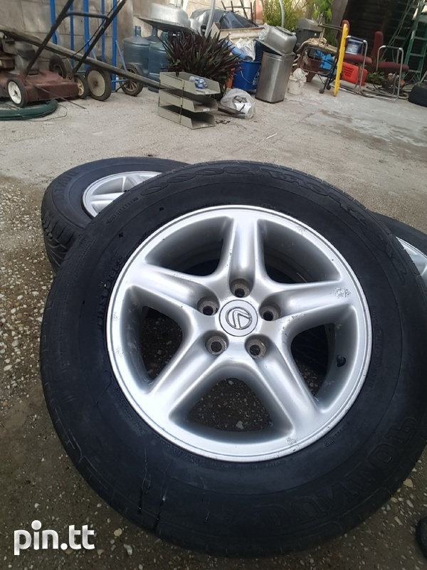 235/65/16 5 hole rims and tyres-1