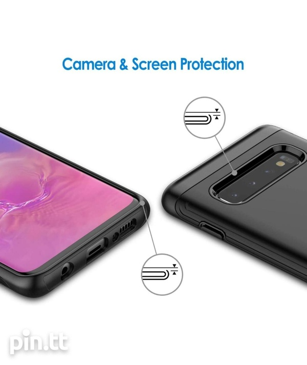 JETech Case for Samsung Galaxy S10 Dual Layer Protective Cover-3