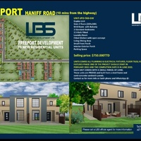 LBS Duplex units Freeport, Haniff road 10min. from the highway