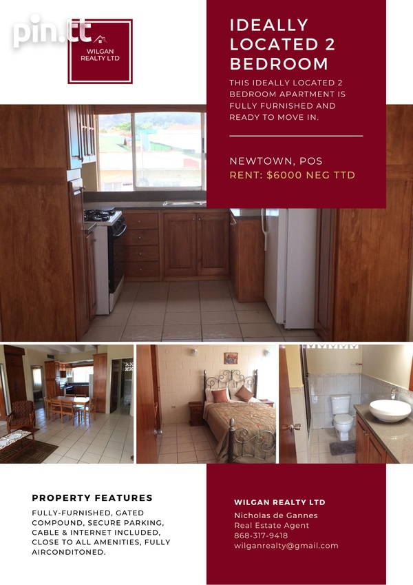 Spacious Two Bedroom Apartment-1