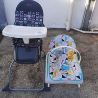 Pre-Loved High Chair and Baby Chair