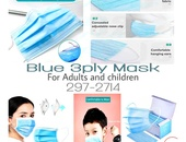 Blue 3ply Mask