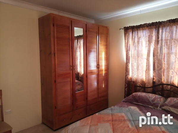 Furnished Two Bedroom Apartment, Lange Park Chaguanas-9
