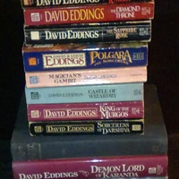 Collection of David Eddings books