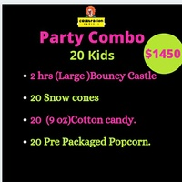 Party Entertainment and Concession Stands