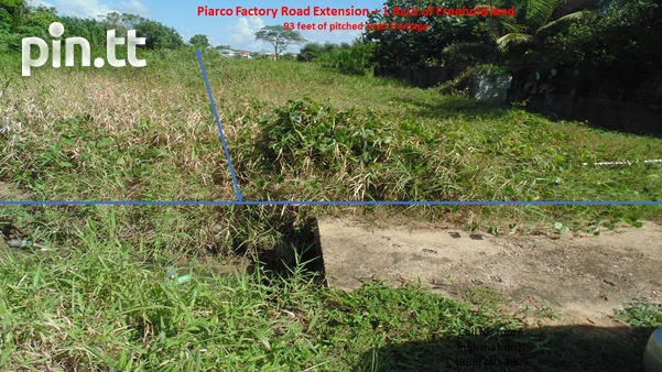 Potential for Condos/Townhouses/Warehouse- Piarco 1 Acre Freehold land-2
