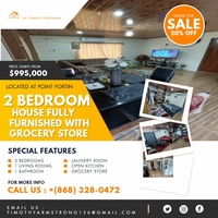 2 Bedroom Fully Furnished House with Grocery