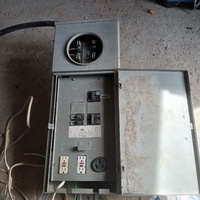 Tempory electrical supply