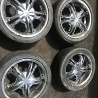 17s Rims and Tyres