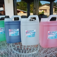 Rubbing alcohol with/without added fragrances available in gallons