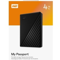 Brand New in Sealed Box Portable 4Tb Hard Drive WD My Passport