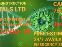 Disinfection service's for COVID-19