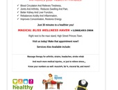 Massage therapy for healthy lifestyles