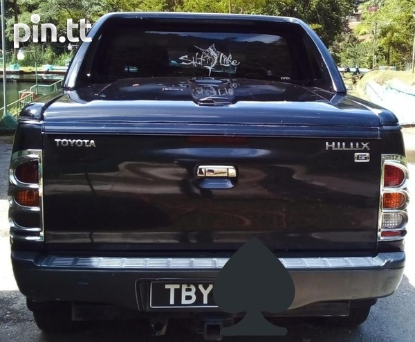Toyota Hilux, 2005, TBY-2