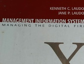 Managemnt Information System. University text book