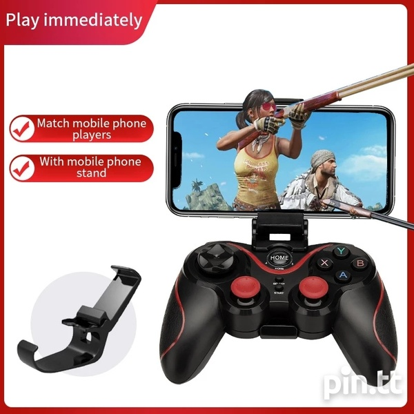 Brand New Wireless Bluetooth Gamepad for android, tv box, pc, ps3-5