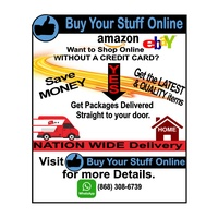 Find Out How To Shop On Amazon, Ebay, etc in 3 Easy Steps. No Credit Card Needed