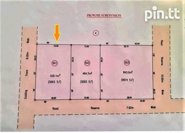 5000 SQ FT LOT OF FREEHOLD LAND CHARLIEVILLE FINAL APPROVALS-1