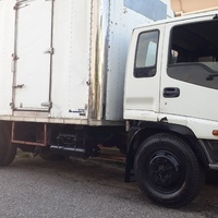 7 ton isuzu with insulated body
