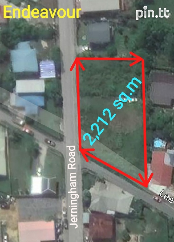 Prime Land Close to Endeavour Road Chaguanas 2.5 Lots