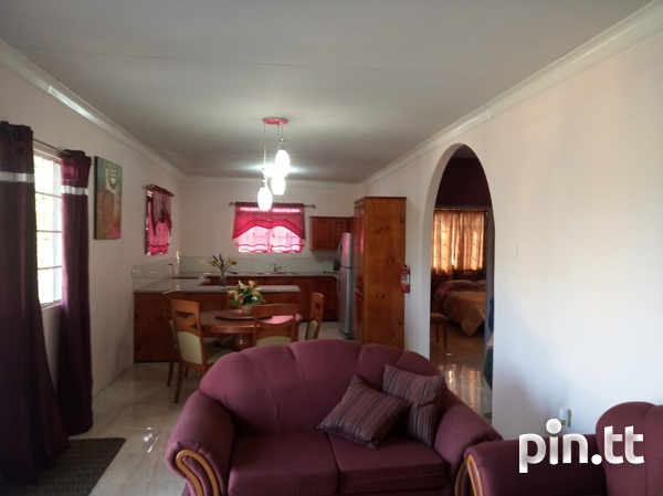Furnished Two Bedroom Apartment, Lange Park Chaguanas-4