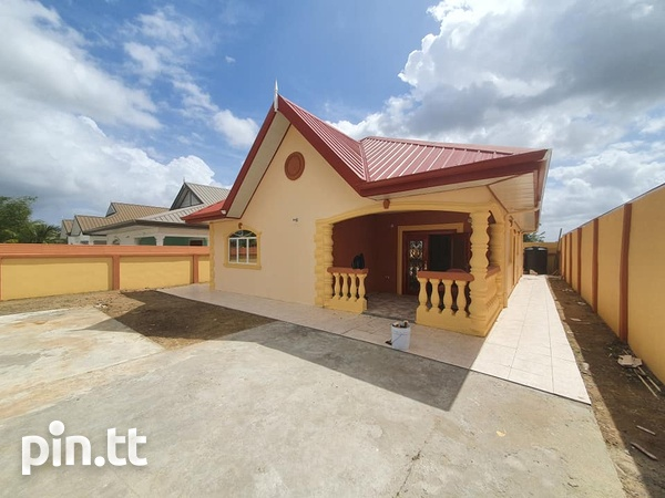 New Cunupia House with 3 Bedrooms-1