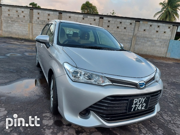 Toyota Axio, 2016, PDY-1