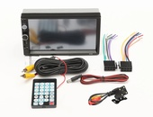 Mp5 double din car radio