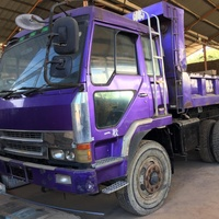 FOREIGN USED FUSO TEN WHEELER