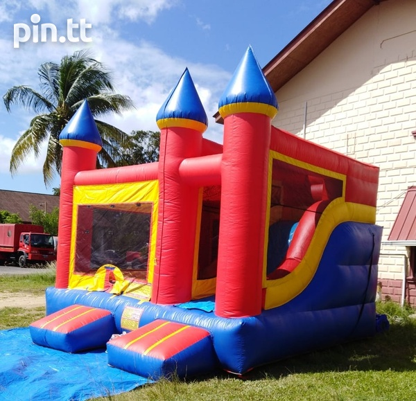 Bounce and slide bounce house-3