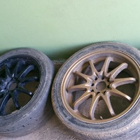 5 rims and tyres