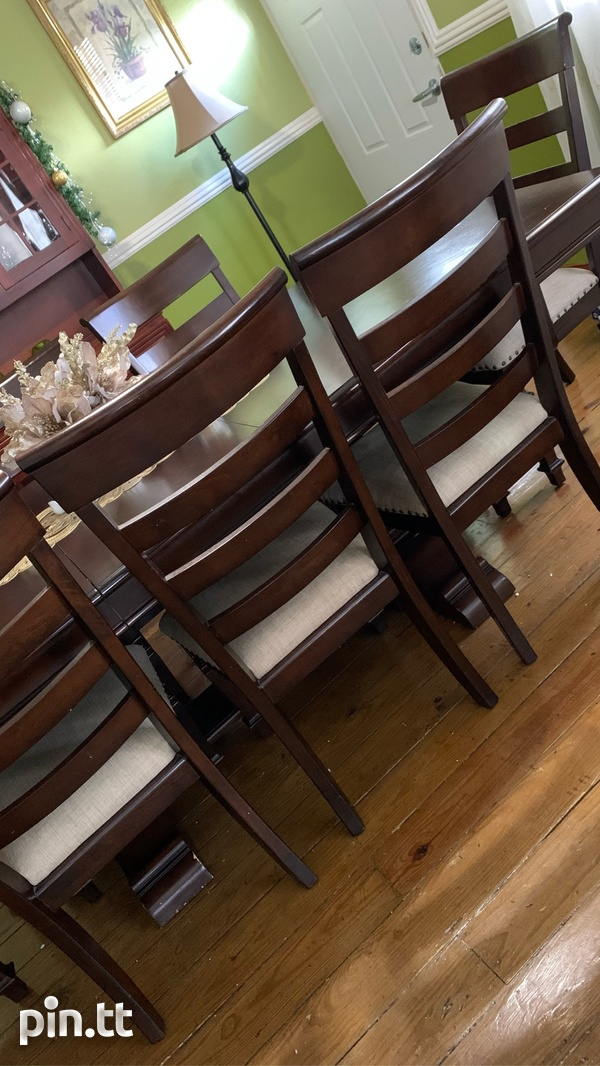 9 Pc Dining Table-2