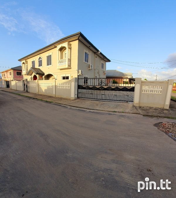 UNFURNISHED TWO BEDROOM ST MARY'S, BEAUCARRO 5 MINS TO CHAGUANAS 743-8020-1
