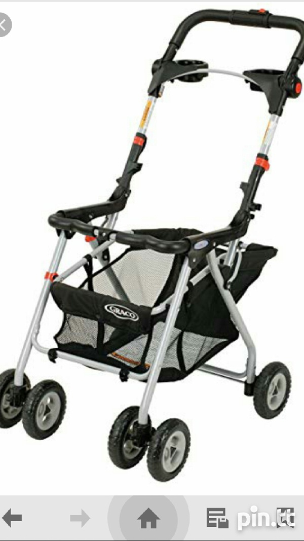 Used carseat and stroller together-3