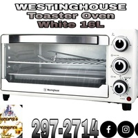 Westinghouse Toaster Oven White 16L