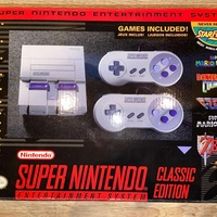 Super Nintendo Classic Edition with Games