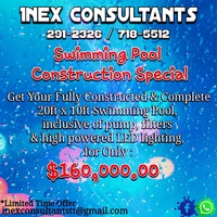 Swimming Pool Construction Offer