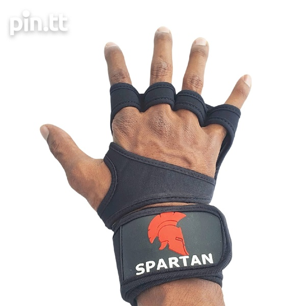 Grip Pads with Wrist wrap protection.-2