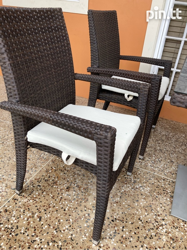 Wicker 5pcs Patio Set-3